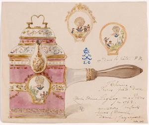 Modèle d'une théière à pâte dure de Sèvres - Charles Etienne Leguay © Musée Carnavalet