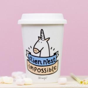 Un mug pour emporter son thé partout chez Mr Wonderful