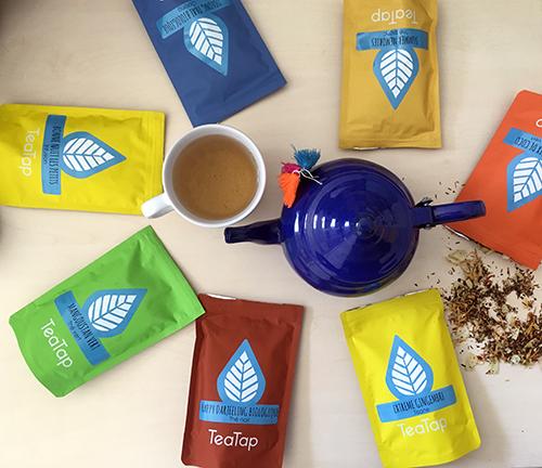 TeaTap, le thé avec des gros bouts dedans - My cup of tea